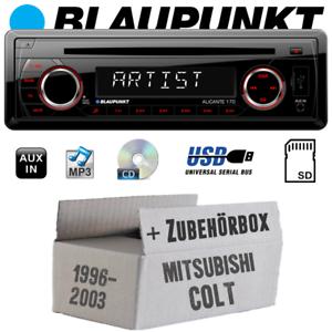 Blaupunkt autoradio para mitsubishi Colt hasta 2003 radio cd//mp3//usb kit de integracion turismos