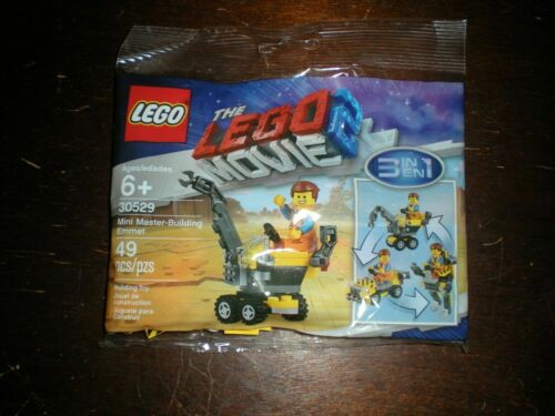 Lego The Lego Movie 2 Polybag #30529 Mini Master-Building Emmet Brand New