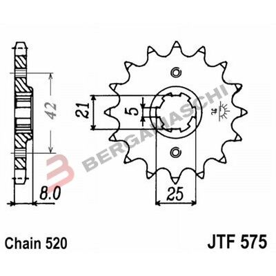 Front Sprocket 14 Tooth Pitch 520 For Yamaha SRX 600 H 1986-1989
