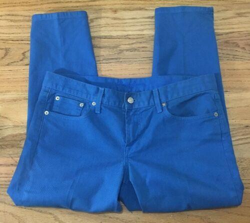 Ralph Jeans in metallo Madison Taglia Placcato Ave Donna Blue 34 867 379 Lauren trqwr8O