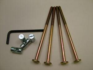 Lit-boulons-de-berceau-4-set-de-M6-x-120mm-verrou-allen-cles-amp-20mm
