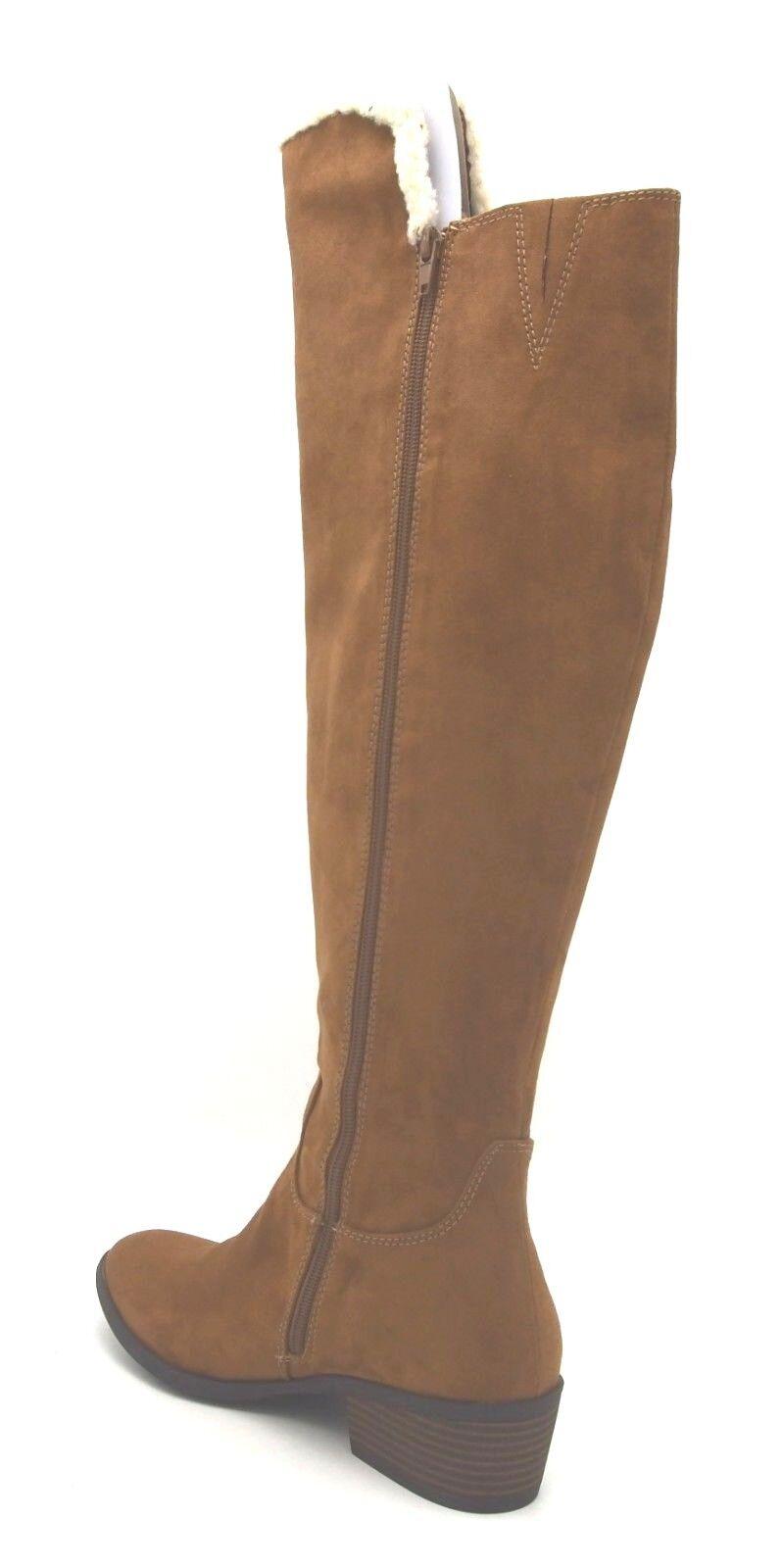 New New New in Box Women's MIA Fawn Chestnut Nova Suede Boot 7 M c941c4