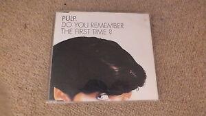 PULP-DO-YOU-REMEMBER-THE-FIRST-TIME-ORIGINAL-RARE-CD-SINGLE