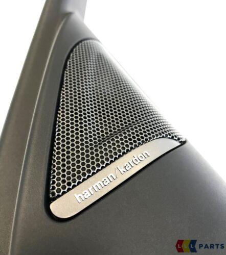 BMW NEW GENUINE 3 F30 F31 FRONT DOOR HARMAN KARDON SPEAKER TWEETER COVER PAIR