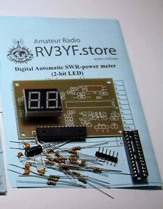 Automatic-Digital-SWR-Power-meter-with-2-bit-LED-KIT-for-assembly