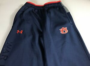 Auburn-Tigers-Pants-Mens-Small-Tall-Long-Under-Amour-Cold-Gear-26-x-35-Actual
