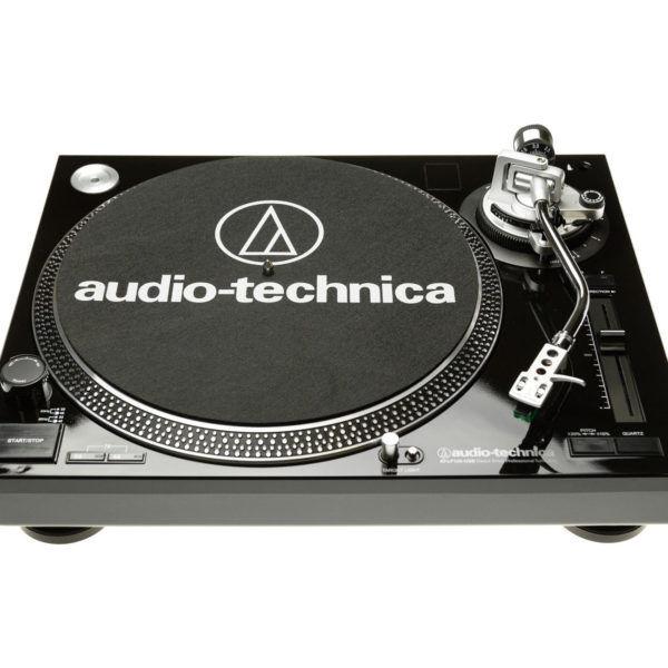 Audio-Technica AT-LP120-USBHC Black giradischi professionale a trazione diretta