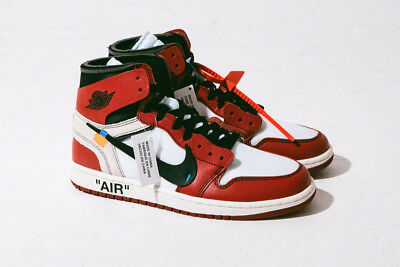 nouvelle collection 31ae4 56907 Air Jordan 1 Retro High OG OffWhite DS SZ 9.5 AA3834-101 Chicago 100%  AUTHENTIC | eBay