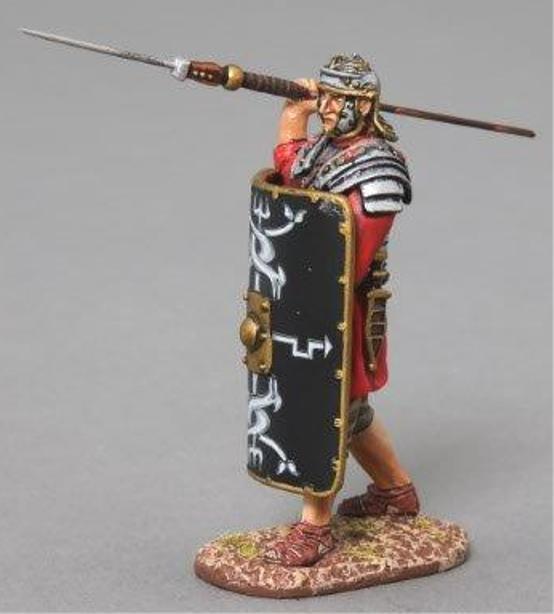 Thomas Gunn Roman Empire rom011b 30. Legionär Abschuss Pilum black MIB
