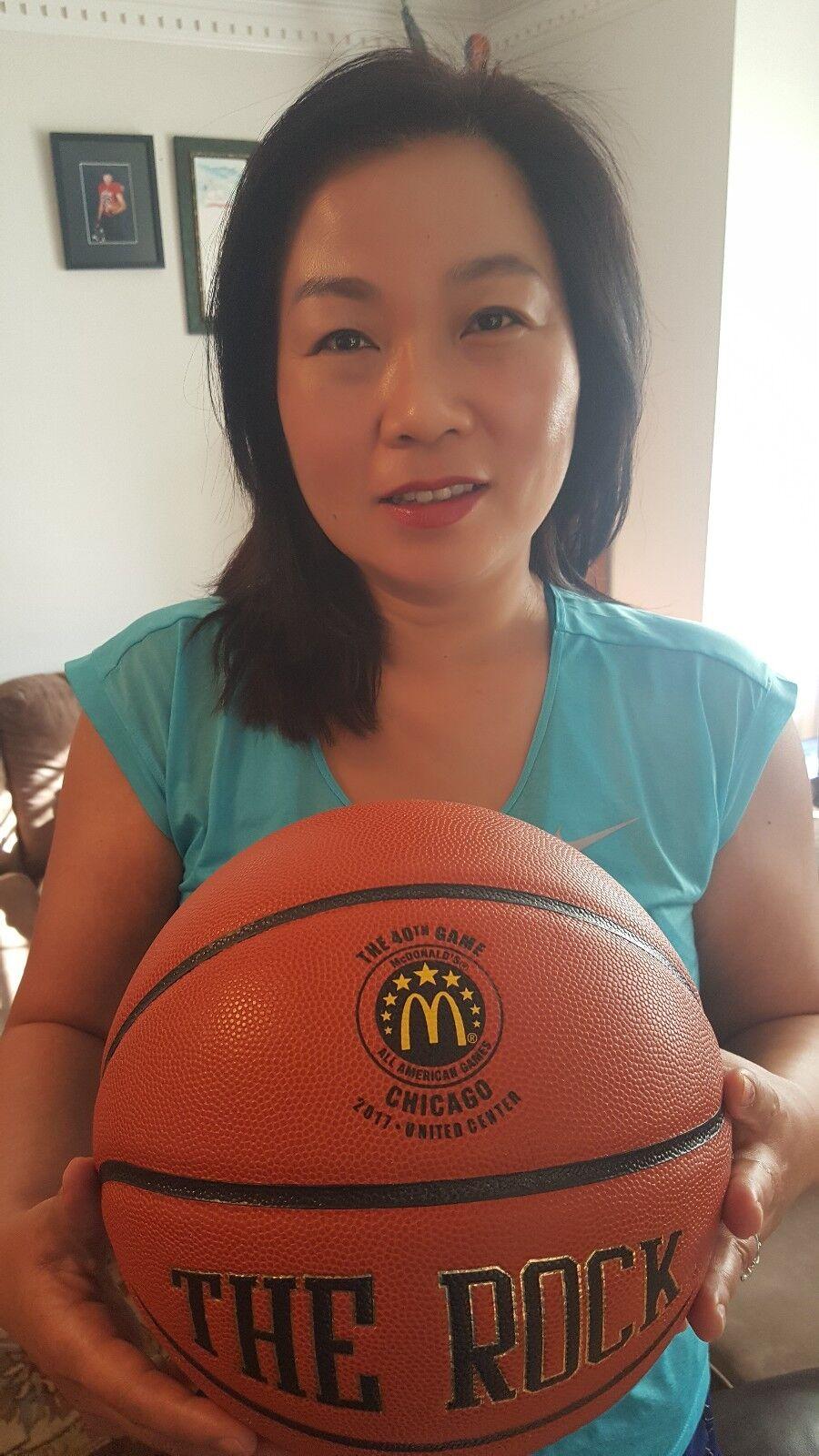 2017 McDonald's All-American Game Bola Baloncesto jugado el 29 de marzo 2017 de la NBA