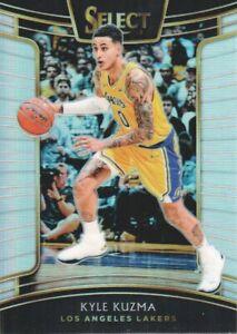 2018-19-Select-Basketball-Prizms-Silver-83-Kyle-Kuzma-Los-Angeles-Lakers