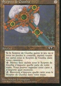 MTG-Magic-Alliances-Sceptre-de-Gustha-Rare-VF