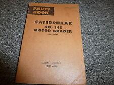 caterpillar 12f 14e grader service manual ct s 12fmg13k ebay rh ebay com 14G Motor Grader Motor Grader Toy