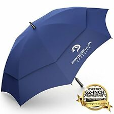 Procella Umbrella Golf Umbrella 62-Inch Large Tested By Skydivers Windproof Auto