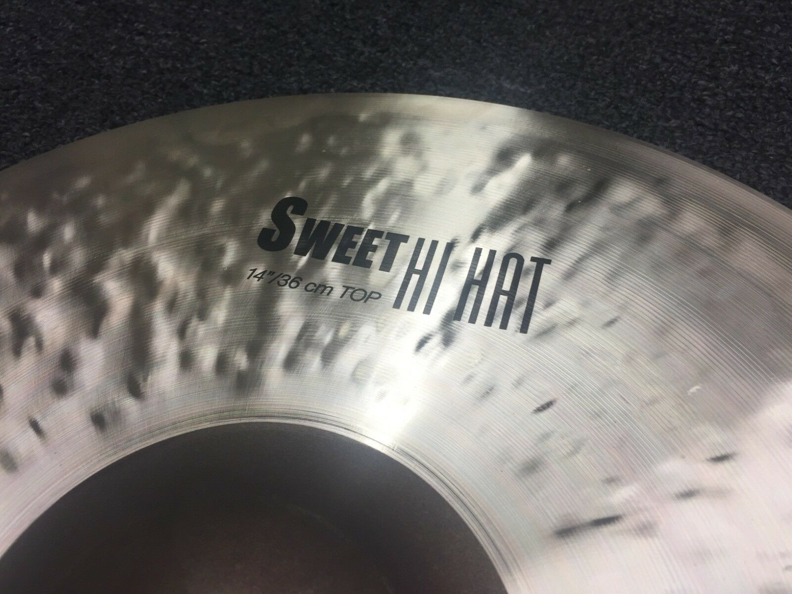 Zildjian NEW to 2019 14  K Sweet Hats (In Stock )