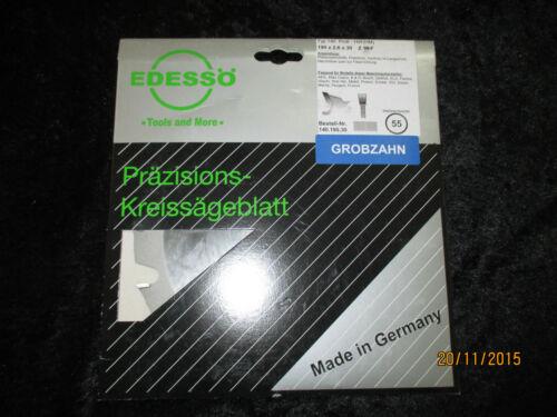 14019030 Edessö HW Kreissägenblatt 190x2,9x30mm 16Z NEU Lieferung inkl!