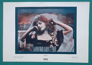 YOUNG-MAIDEN-Sorceress-Queen-of-Night-1904-COLOR-Art-Nouveu-Era-Print