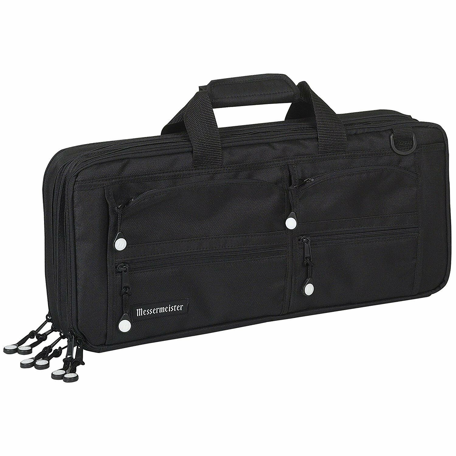 Messermeister 18 Poche Meister CHEF'S KNIFE STORAGE CASE bagage-Noir