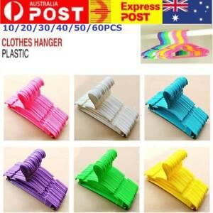 10-60PCS-Colored-Children-Kids-Coat-Hangers-Child-Baby-Clothes-Hanger-Cloth-Rack
