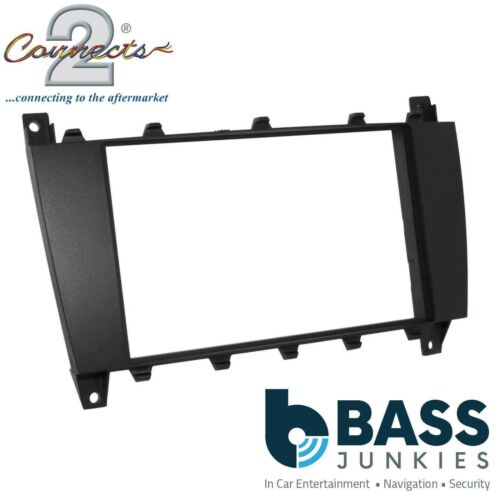 Mercedes Benz C Class 2004-07 Car Stereo Radio Double Din Fascia Panel DFP-23-03