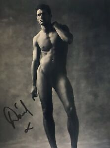 David-Gandy-Signed-Autographed-8x10-Bxw-Photo-Sexy