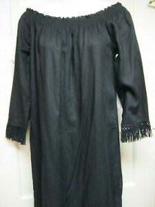 Black-Off-the-Shoulder-Dress-by-Mud-Pie-Size-Small-New
