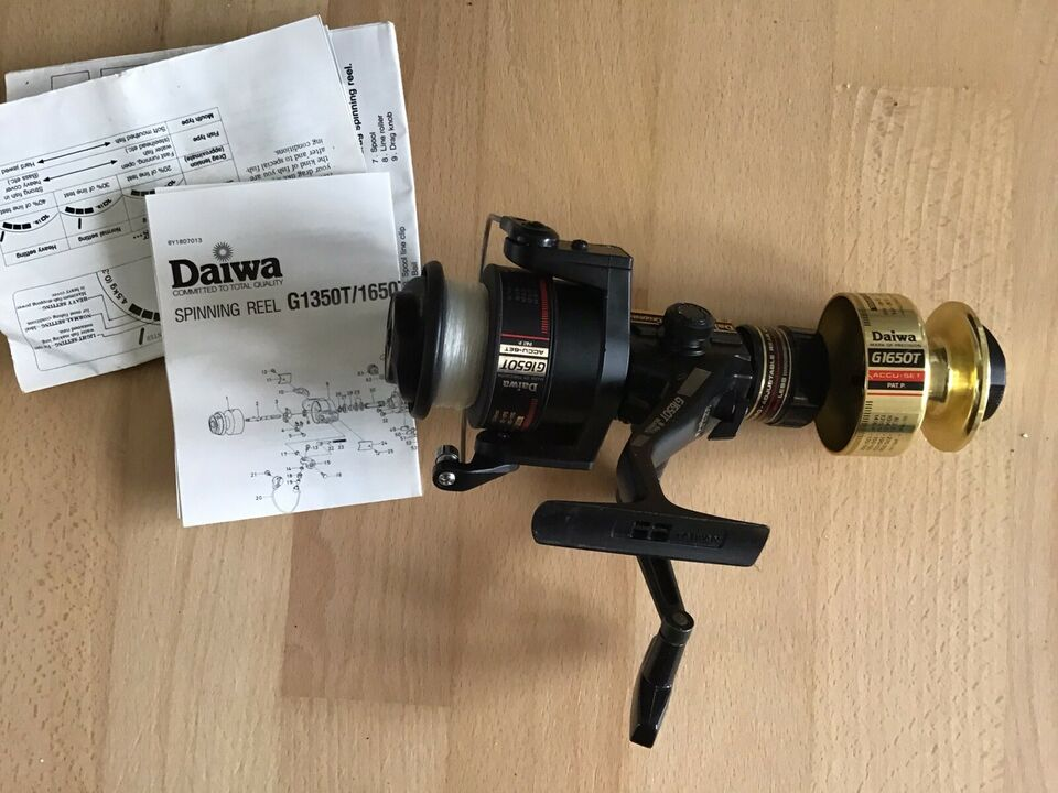 Fluehjul, Daiwa Graphite, hi-speed G1650T