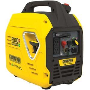 Champion 100899 - 1850 Watt Dual Fuel Inverter Generator w/ Parallel Capabili...