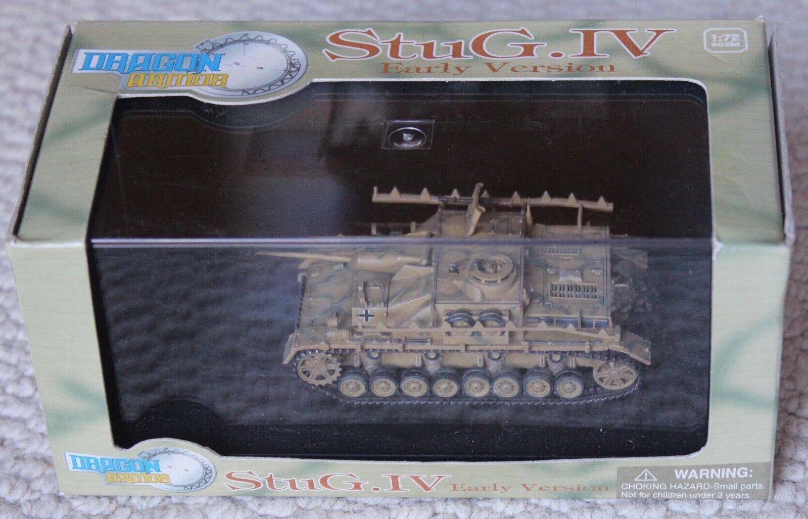 1 1 1 72 DRAGON ARMOR  HOBBY MASTER GERMAN STUG 1V WW2 TANK 60068 089761