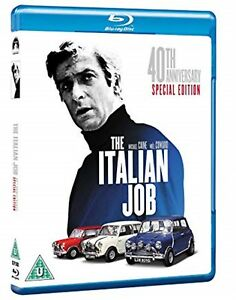 The-Italian-Job-1969-40th-Anniversary-Edition-Brand-New-and-Sealed-Blu-ray