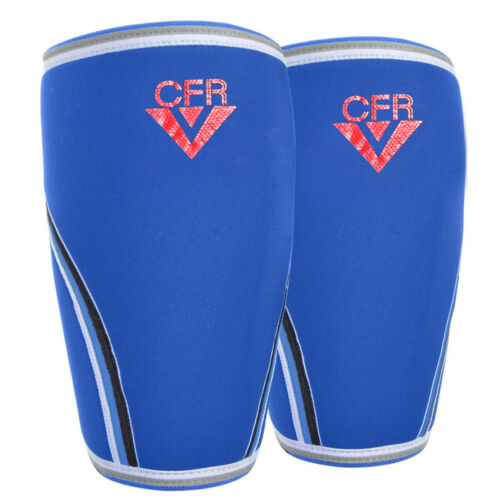 PAIR Neoprene Knee Sleeve Support Crossfit Power Weight Lifting Squats Brace 7mm