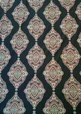 """Patterned JERSEY LYCRA Dance Fabric Material Textile 60"""" width Black"""