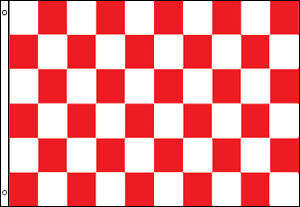 Checkered Flag Blue /& White 3x5 Feet Checkered Flag