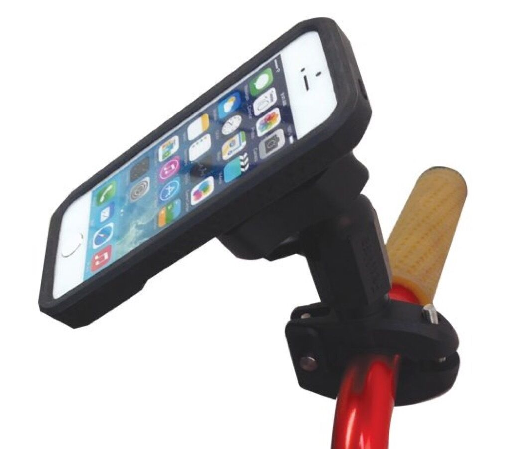 13261  PanaVise BarGrip Mount with Rokform iPhone 6 6S Case for motorcycle, ATV