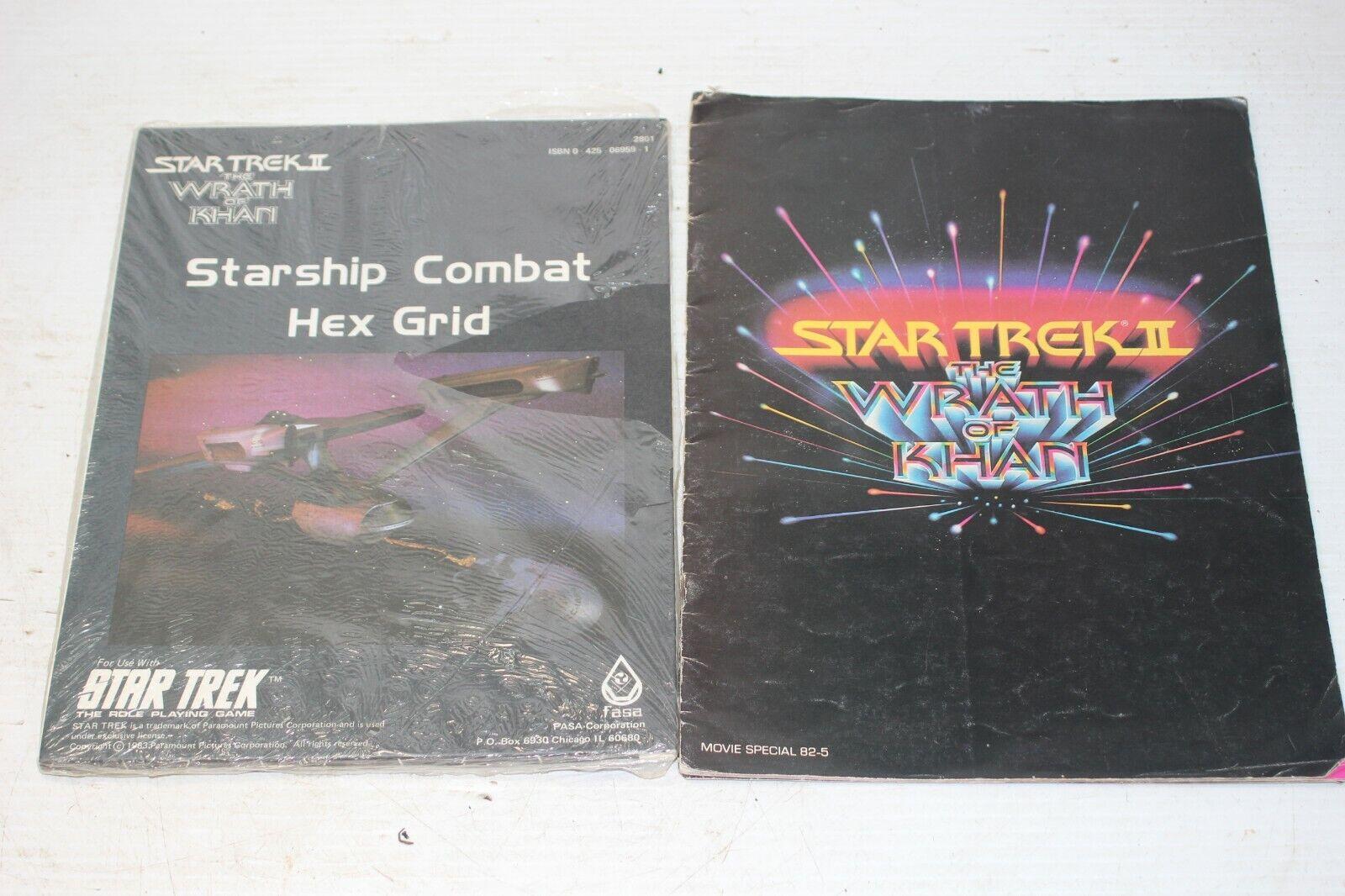 EstrellaSHIP COMBAT HEX GRID   The Wrath of Khan estrella Trek II FASA Module Map  qualità di prima classe