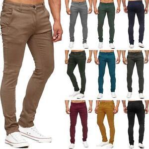 Nouveau-Homme-Pantalon-Chino-Skinny-stretch-super-slim-fit-jeans-homme-30-40-Pantalon