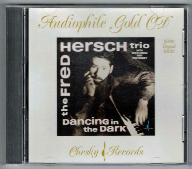 FRED HERSCH:Dancing In The Dark-Drew Gress+Tom Rainey-CHESKY 24kt GOLD CD-RARE!