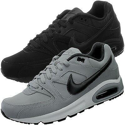 Nike Air Max Command Leather Noir ou Gris herrensneaker Chaussures Loisirs Neuf | eBay