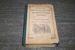 ANCIEN CATALOGUE ILLUSTRÉ DES COLLECTION D'OBJETS D'ART 1865. SyuXAiwl-07134817-548110867