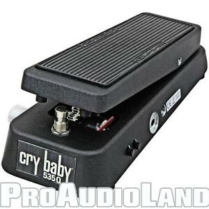 Jim-Dunlop-535Q-Cry-Baby-Multi-Wah-Wah-Effect-Pedal-Factory-Package-NEW
