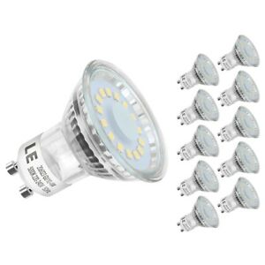 Details About Le 10 Pack Mr16 Gu10 Led Light Bulbs Daylight White Recessed Track Lighting