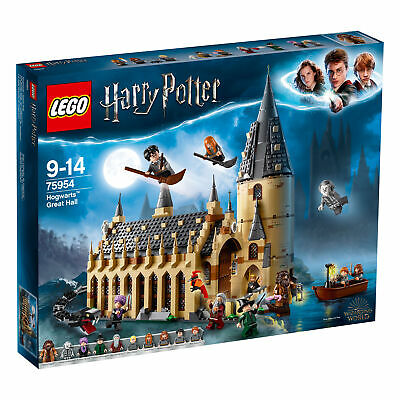 75954 LEGO Harry Potter Hogwarts Great Hall 878 Pieces Age 9+