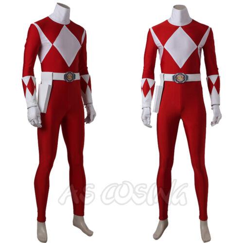 Zyuranger Geki Cosplay Tyranno Ranger Costume Jumpsuit+Shoes