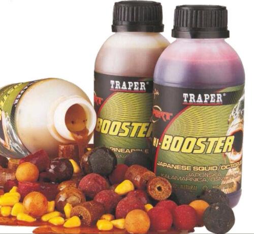 Expert Hi-Booster Angelfutter Boilies Pellets Lockfutter 350g Aroma  Fisch NEU