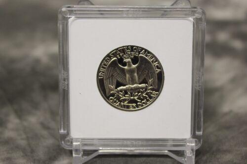 50 BCW 2x2 Coin Holder Snap Capsule WASHINGTON QUARTER 24.3mm Storage Case
