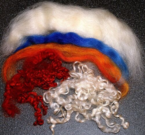 Registra fieltro lana mojada fieltro Pack para 3 Ángel o hadas kit completo para principiantes