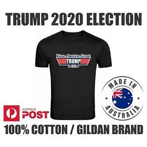 Donald J Trump 2020 Basic white t-shirts Keep America Great gildan