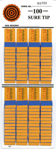 Value FREE BUY 12 # 100 Sure Tip Boards 1-100 Receive 2 # 100 Boards FREE $10