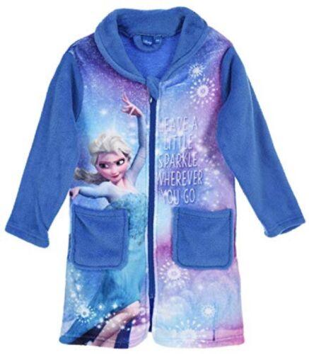 128 Rosa e Blu 116 104 DISNEY Frozen Cappotto balneazione la regina tg 110