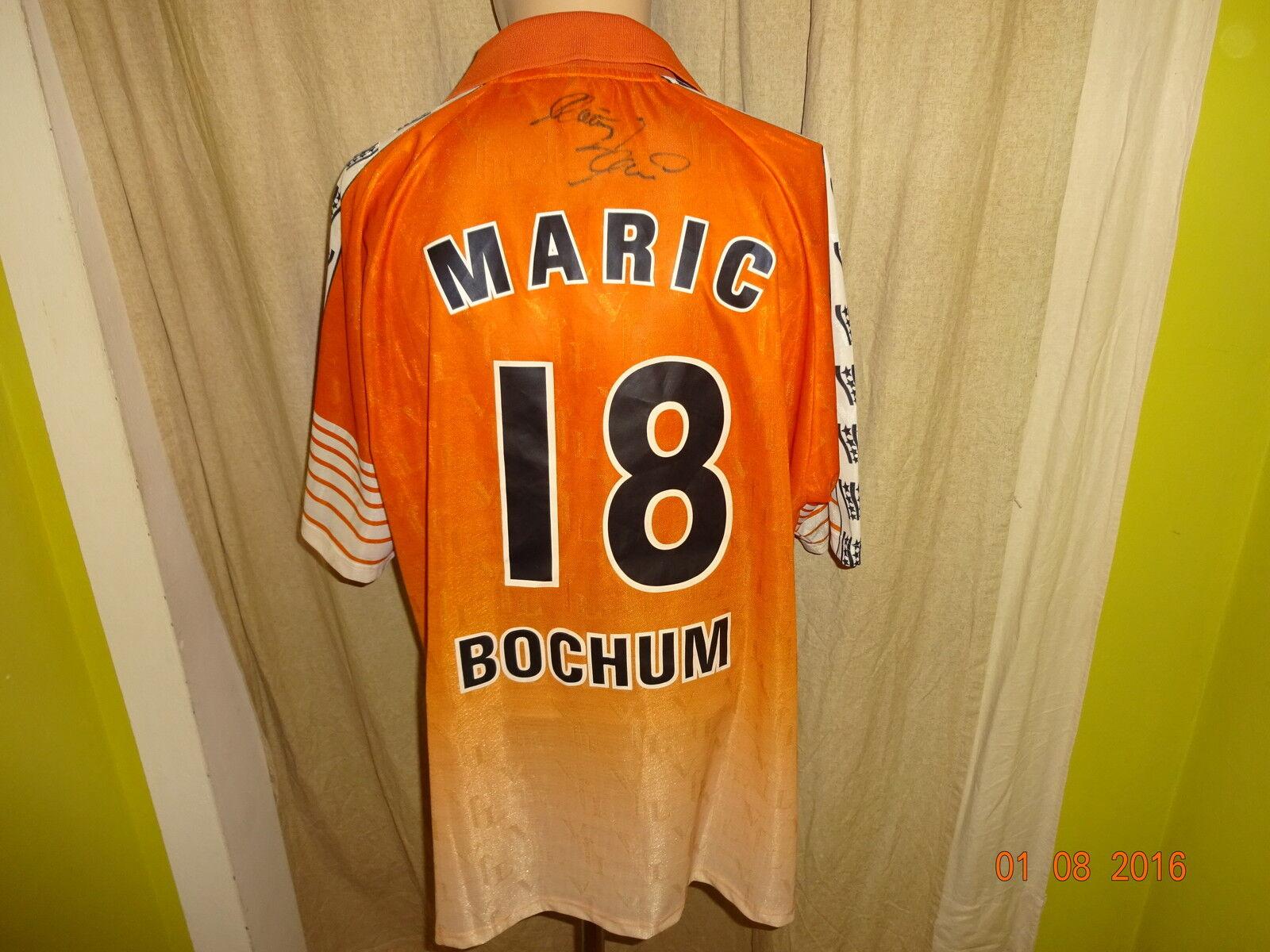 VfL Bochum Original Ausweich Trikot 00 01 + Nr.18 Maric + Handsigniert Gr.XL Neu